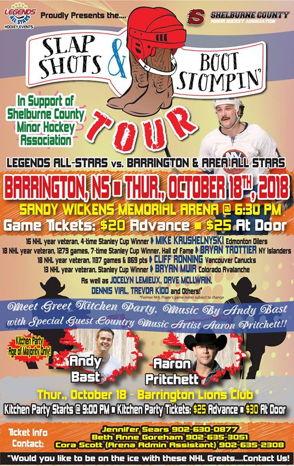 Boot Stompin Hockey Heroes Tour