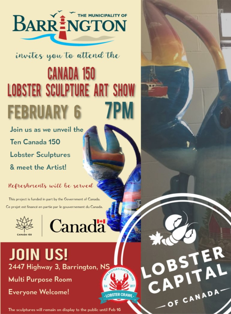 Canada 150 Lobster Art Show