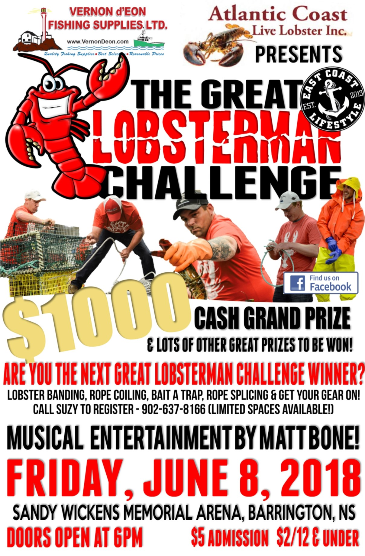 Great Lobsterman Challenge Poster 2018 web