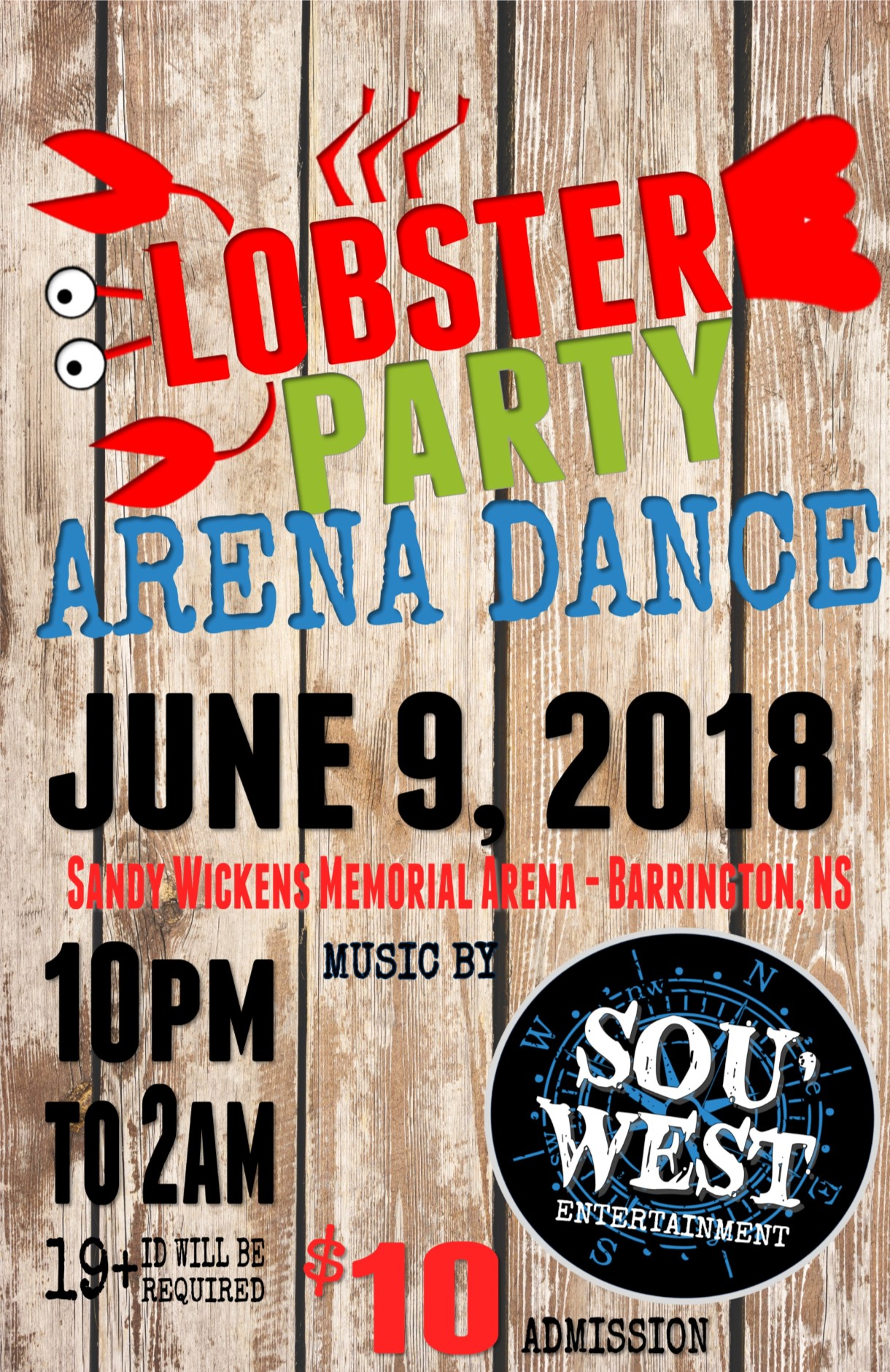 Lobster Party Arena Dance2018web