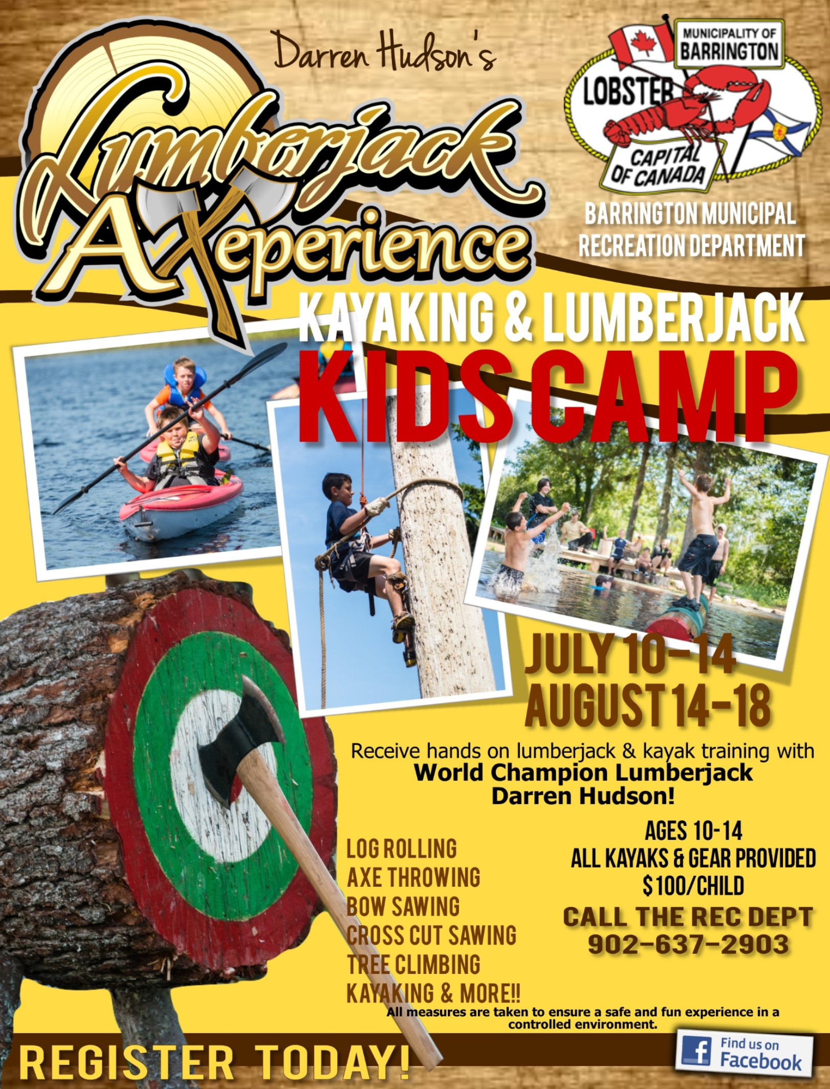 Lumberjack Kids Camp 2017