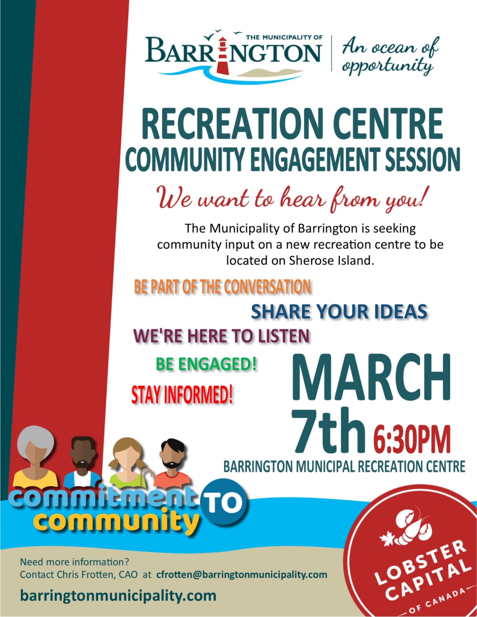 Recreation Centre Community Engagement