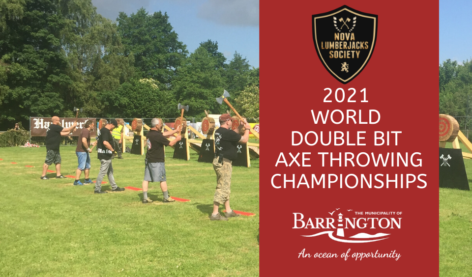 Press Release 2021 World Double Bit Axe Throwing Championships