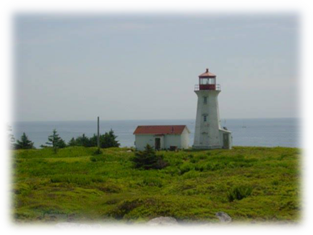 cape negro island lighthouse